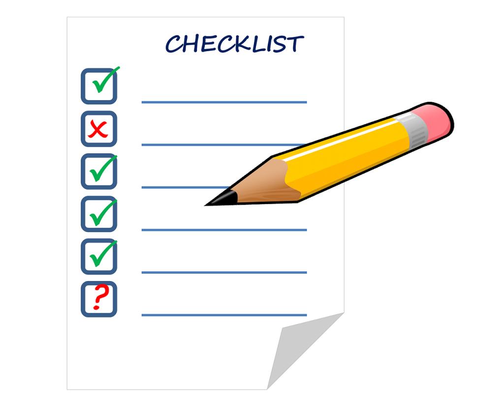 checklist-911841_1280